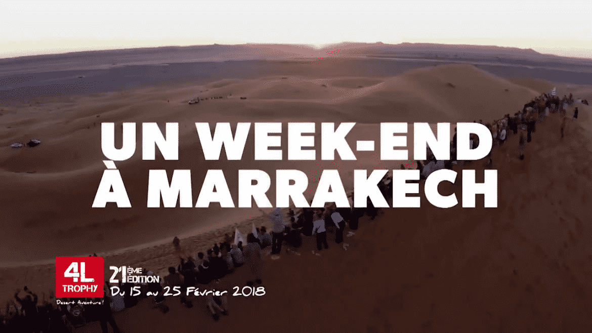 Gagnez un week-end à Marrakech